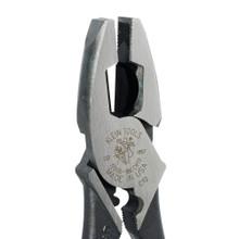 Klein Tools  J2000-9NECRTP Lineman's Pliers, Fish Tape Pull/Crimping, 9-Inch