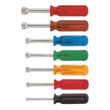 Klein Tools  K7 Nut Driver Set, 3-Inch Shafts, 7-Piece