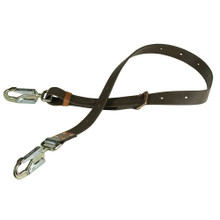 Klein Tools  KG5295-6L Positioning Strap, 6-1/2-Inch Snap Hook, 6-Foot