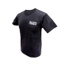 Klein Tools  MBA00044-0 Hanes® Tagless® T-Shirt Black, S