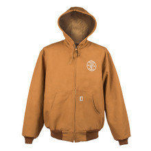 Klein Tools  MBA00049-2 Carhartt® Hooded Jacket with Lineman Logo, L