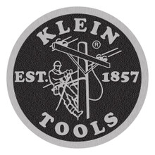 Klein Tools  MBE00130 Coin Logo Decal, 8-Inch Diameter, Single Pack