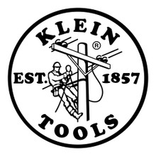 Klein Tools  MBE00132 Hard Hat / Cap Decal, 2.4-Inch, Black Lineman Logo