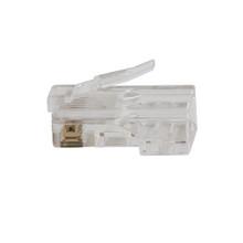 Klein Tools  VDV826-703 Pass-Thru™ Modular Data Plug, CAT6, 50-Pack