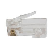 Klein Tools  VDV826-762 Pass-Thru™ Modular Data Plugs, CAT5e, 200-Pack