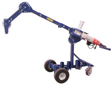 "Current Tools 66 Two Speed Cable Puller - 6,000 lb. Capacity with Mobile Cart (comes with complete set of couplings 2"" to 4"")"