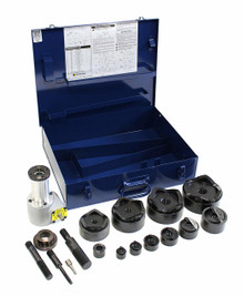 """Current Tools 164PM 1/2"""" to 4"""" Drill Driven Punch Driver Set"""