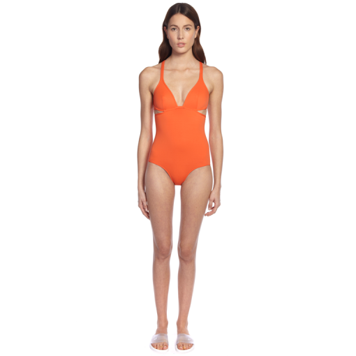 CITRUS TWIST BACK ONE PIECE - FRONT