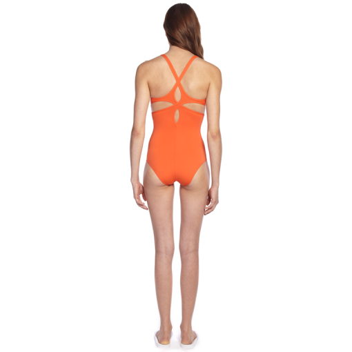 CITRUS TWIST BACK ONE PIECE - BACK