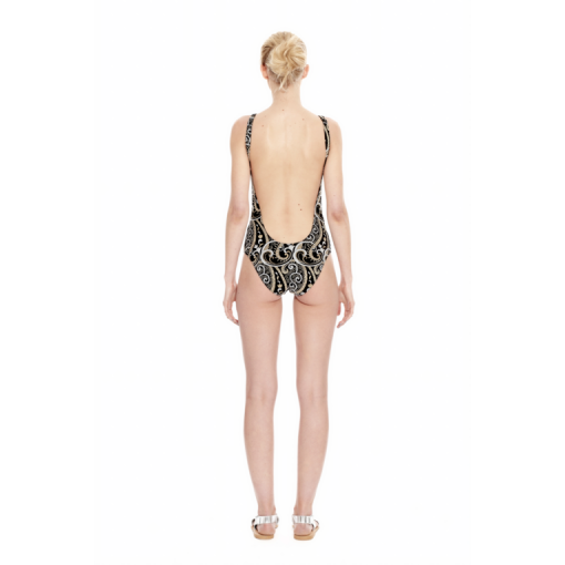 NARCISSUS TANK ONE PIECE - BACK