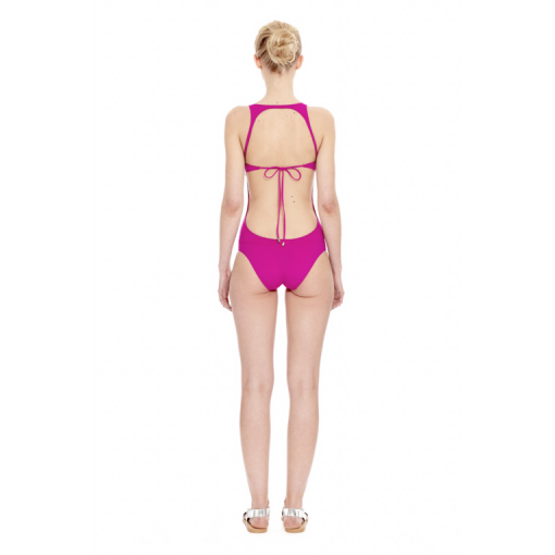 MAGENTA HYBRID ONE PIECE - BACK