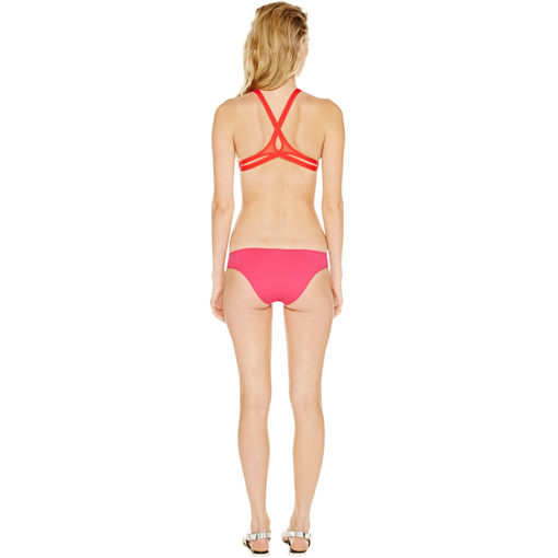 ROUGE TWIST BACK TOP WITH FRAMBOISE CLASSIC PANT - BACK