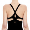 Noir Twist Back One Piece from EPHEMERA Swimwear
