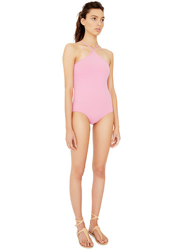 BONBON HALTER ONE PIECE SIDE
