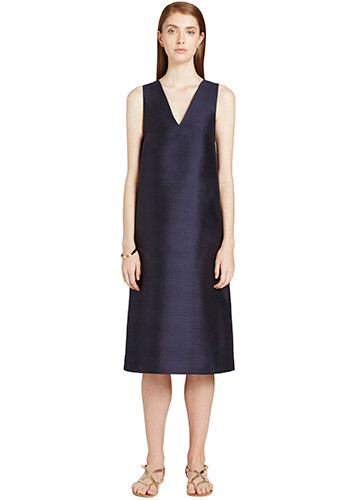MARINE WOVEN BACK DRESS FRONT
