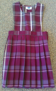 Pinafore Jumper Plaid 91 (1009)