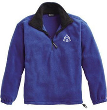 Quarter-Zip Fleece Pullover with Logo, Grades 6-8 (1030)