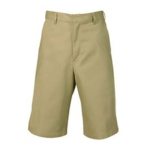 Boys Flat Front Shorts, Husky (1007)