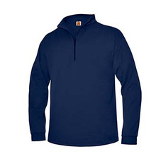 Quarter-Zip Sport-Wick Fleece Sweatshirt with Logo (1001)