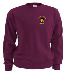 Crew Neck Sweatshirt with Logo (1009)