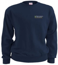 Crew Neck Sweatshirt with Logo (1019)