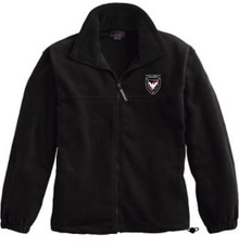Full-Zip Fleece Jacket with Logo (1007)