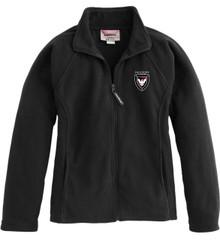 Ladies Full-Zip Fleece Jacket with Logo (1007)
