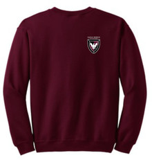 Crew Neck Sweatshirt with Logo (1007)