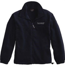 Full-Zip Fleece Jacket with Logo (1005)