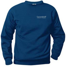 Crew Neck Sweatshirt with Logo (1005)