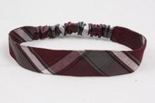 Elastic Headband, Plaid 91