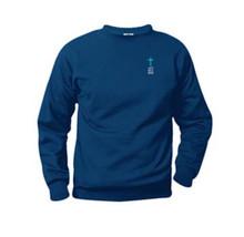 Crew Neck Sweatshirt with Logo (1031)