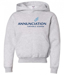 Hooded Sweatshirt with School Logo (1002)