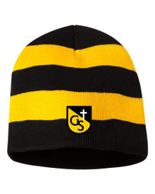 Striped Knit Hat, Spirit Wear (1009)