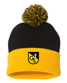 Pom Knit Hat, Spirit Wear (1009)