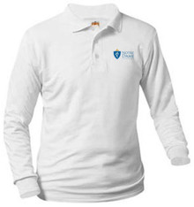 Polo Long Sleeve Jersey Knit with Logo (1014)