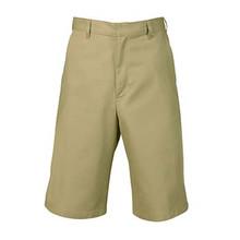 Boys Flat Front Shorts, Husky (1022)