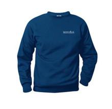 Crew Neck Sweatshirt w/ Logo (1022)