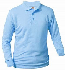Polo Long Sleeve Jersey Knit