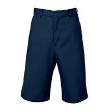 Boys Flat Front Shorts, Husky (1016)