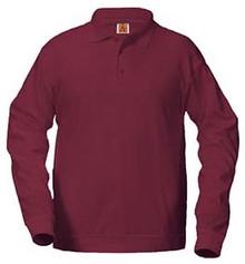 Polo Long Sleeve Banded Bottom, Boys Grades K-5 (1007)