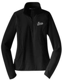 Ladies Half Zip Sport-Wick Pullover with Logo, Spirit Wear (1005)