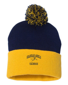 Pom Knit Hat, Spirit Wear (1035)