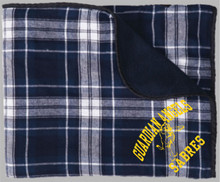 Plaid Flannel Blanket, Spirit Wear (1035)