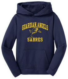 Sport-Wick Hooded Pullover, Spirit Wear (1035)