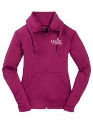Ladies Sport-Wick Stretch Full-Zip Jacket (1036)
