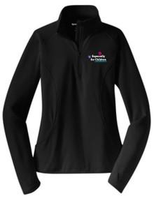 Ladies Sport-Wick Stretch Half-Zip Pullover (1036)