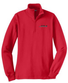 Ladies Quarter-Zip Sweatshirt (1037)
