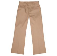 Girls Flat Front Pants, Regular and Slim Fit (1038)