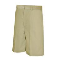 Boys Flat Front Shorts, Husky (1038)